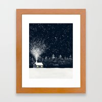 The Snow Makers Framed Art Print