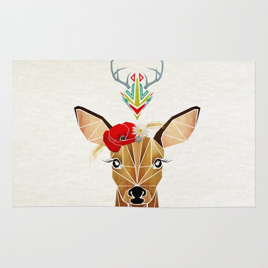 biche oh ma biche ! Area & Throw Rug
