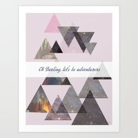 Oh, Darling... Art Print