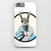 iPhone & iPod Case featuring Java Llama by Art is Vast