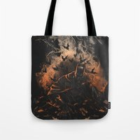 Arising after a fall Tote Bag