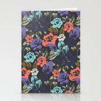 Midnight Garden Pop Stationery Cards