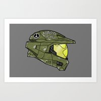 Augmented to Kill Art Print
