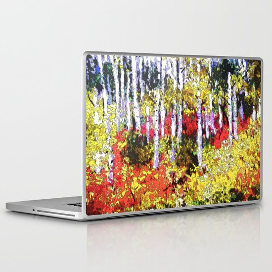 Title: Glorious Colors - digital Silk Screen Laptop & iPad Skin