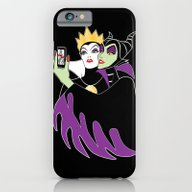 iPhone & iPod Case featuring Grimhilde & Maleficent S… by SwanStarDesigns