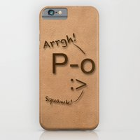 iPhone & iPod Case featuring Pirates Have Emoticons, Too by quietsight