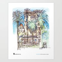 "Shiho Nakaza, ""Castle Green, Pasadena"" Art Print"