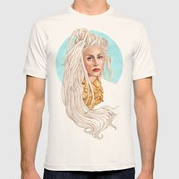 Versace Venus Mens Fitted Tee Natural SMALL