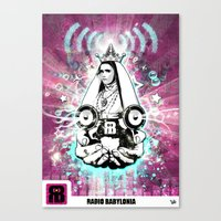 Poster RB Canvas Print