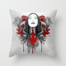 Akane Throw Pillow