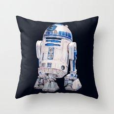 R2 D2 - Star Wars Throw Pillow