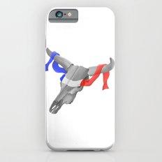 Patriotic Cow Skull Slim Case iPhone 6s