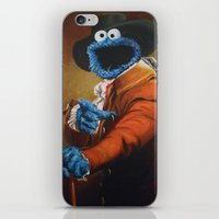 Monster Ducookie iPhone & iPod Skin