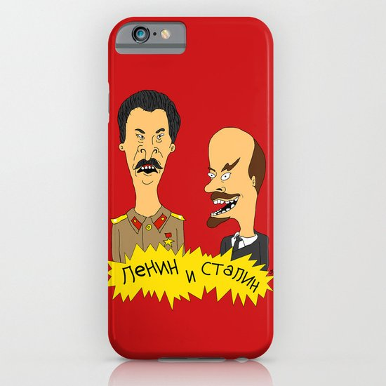 Lenin and Stalin iPhone & iPod Case