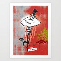 Thunderstruck No. 2 Art Print