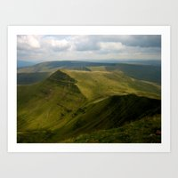Pen Y Fan Art Print