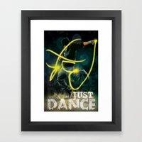 Flash Dance Framed Art Print