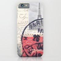 Postale Paris iPhone 6 Slim Case