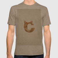 C. Mens Fitted Tee Tri-Coffee SMALL
