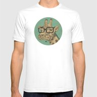 GRF - Second Version Mens Fitted Tee White SMALL