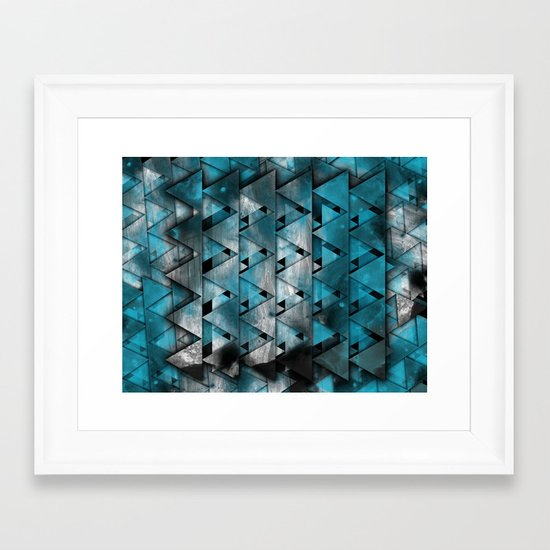 TriangleTracts Full Bleed... Framed Art Print