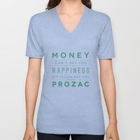 Prozac Nation Unisex V-Neck