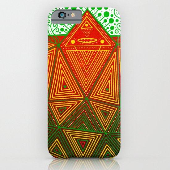 Yello Warrior iPhone & iPod Case