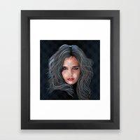 Light in time of darkness Framed Art Print