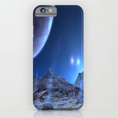 Extraterrestrial Landscape : Galaxy Planet Blue iPhone 6 Slim Case