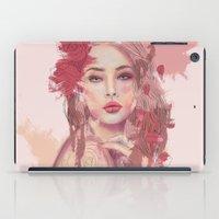 Petals and Thorns iPad Case
