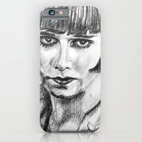 iPhone Cases featuring Louise Brooks by Juliette Caron