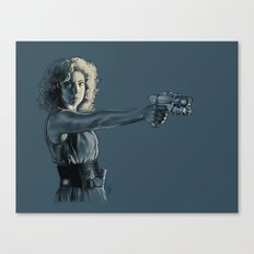 Mrs. Robinson - Doctor Who Canvas Print