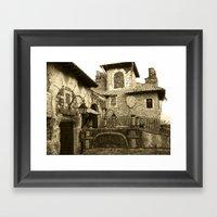 Altos de Chavon Framed Art Print