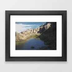 Rock Pool Framed Art Print