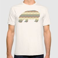 evening sand Mens Fitted Tee Natural SMALL