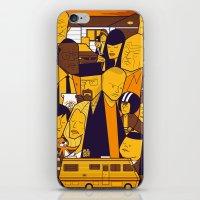 Breaking Bad (yellow version) iPhone & iPod Skin