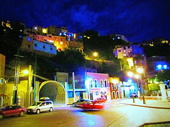 Guanajuato at night Art Print