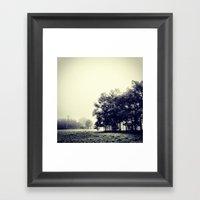 Summer Fog Framed Art Print