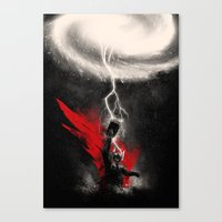 The Mightiest Canvas Print