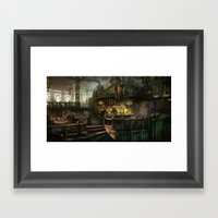 kodran mess hall Framed Art Print