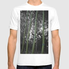 What Would You Do For Bamboo? Mens Fitted Tee White SMALL