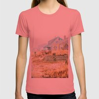 Color Me Pretty Womens Fitted Tee Pomegranate SMALL