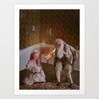 De Grootvader Art Print