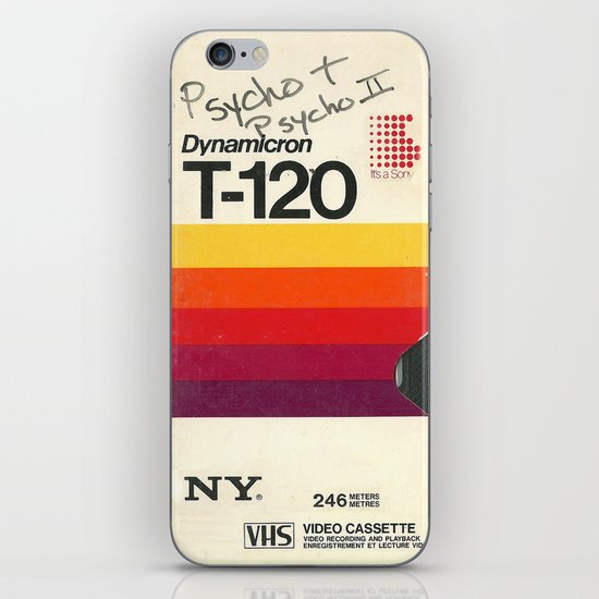 vhs iPhone & iPod Skin