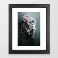 Dragon Age - Solas and Inqusitor Framed Art Print