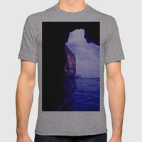 Blue Lagoon Mens Fitted Tee Athletic Grey SMALL