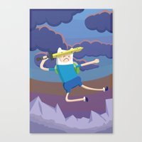 Finn The Human Is Gonna … Canvas Print