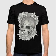 Dia De Muerto - Explosion Mens Fitted Tee Black SMALL