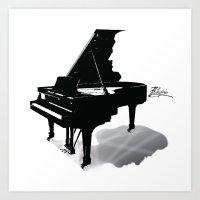 Pianist, Frédéric Chop… Art Print