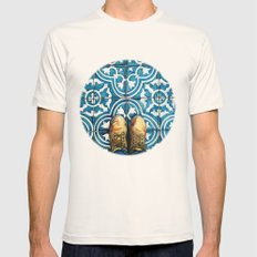 Art Beneath Our Feet - Mexico City Mens Fitted Tee Natural SMALL